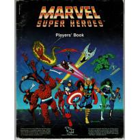 Marvel Super Heroes - Player's Book (jdr de TSR Inc en VO) 001
