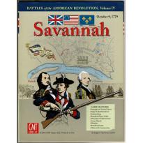 Savannah - October 9, 1779 (wargame de GMT en VO)