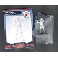 Clone Trooper with Night Vision (figurine jeu Star Wars Miniatures en VO)