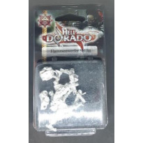 Occidentaux - Flammenwerfer Soldat (blister figurines Hell Dorado en VF) 001