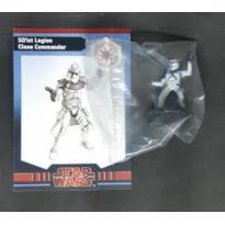501st Legion Clone Commander (figurine jeu Star Wars Miniatures en VO)