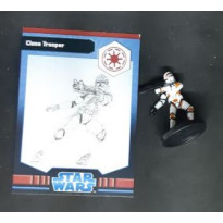 Clone Trooper - Figurine Premium Map Pack (jeu Star Wars Miniatures en VO)
