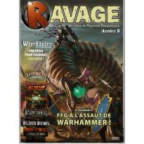 Ravage N° 9 (le Magazine des Jeux de Figurines Fantastiques) 001