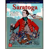 Saratoga 1777 - Battles for the American Revolution I (wargame GMT en VO)