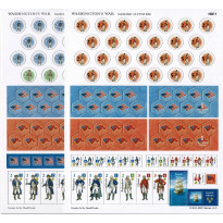 Washington's War - 2 planches de pions (wargame de GMT Games en VO)