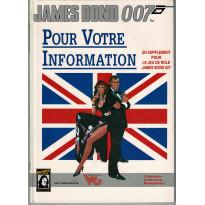 Pour Votre Information (jdr James Bond 007 en VF) 008