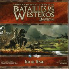 Batailles de Westeros - Boîte de base (jeu de stratégie avec figurines Battlelore en VF)