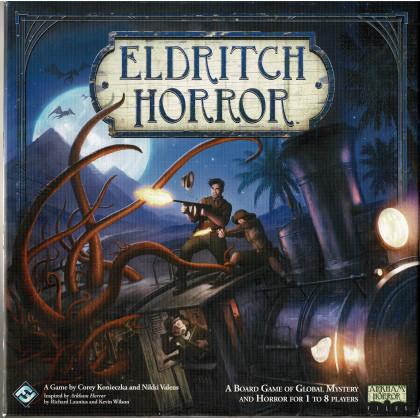 Eldricht Horror + Forsaken Lore Expansion (jeu de stratégie Fantasy Flight Games en VO) L100
