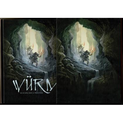 Würm - Livre de base & étui (jdr seconde édition de BBE en VF) L153