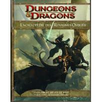Encyclopédie des Royaumes Oubliés (jdr Dungeons & Dragons 4 en VF)