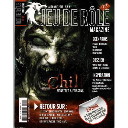 Jeu de Rôle Magazine N° 39 (revue de jeux de rôles) 001