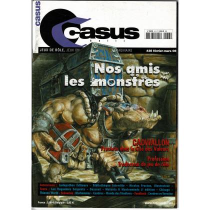 Casus Belli N° 36 (magazine de jeux de rôle 2e édition) 006