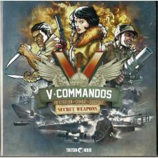 V-Commandos - Secret Weapons (extension jeu de stratégie de Triton Noir en VF & VO)