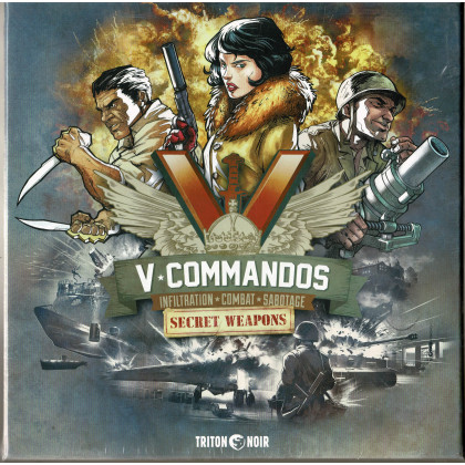 V-Commandos - Secret Weapons (extension jeu de stratégie de Triton Noir en VF & VO) 001
