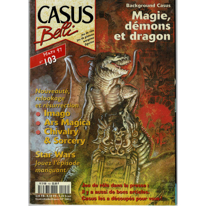 Casus Belli N° 103 (magazine de jeux de rôle) 009