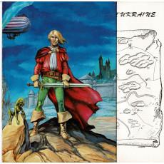 La Terre Creuse - Ecran & livret (jdr Les Silmarils en VF)