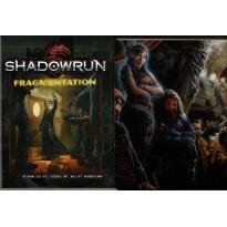 Shadowrun 5e édition - Ecran du MJ & Fragmentation (jdr Black Book Editions en VF)