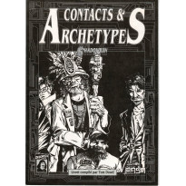 Shadowrun - Livret écran Contacts & Archétypes (jdr 2e édition en VF)