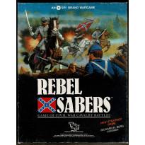 Rebel Sabers - Game of Civil War Cavalry Battles (wargame de SPI-TSR en VO)