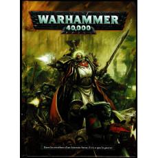 Warhammer 40,000 - Livre de règles (jeu de figurines 6e édition en VF)