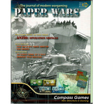 Paper Wars 77 - Wargame Anzio: Operation Shingle 1944 (magazine de Compass Games en VO)