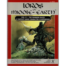 Lords of Middle-Earth - Vol. 2 The Mannish Races (jdr MERP en VO)