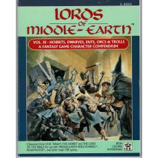 Lords of Middle-Earth - Vol. 3 Hobbits, Dwarves, Ents, Orcs & Trolls (jdr MERP en VO)