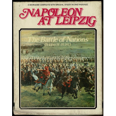 Napoleon at Leipzig - The Battle of Nations 1813 (wargame de Clash of Arms en VO)