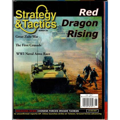 Strategy & Tactics N° 250 - Red Dragon Rising (magazine de wargames en VO) 002