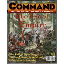 Command Magazine N° 46 - The End of Empire (magazine de wargames en VO)