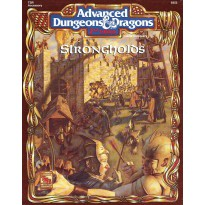 Strongholds (jdr AD&D 2ème édition) 001