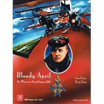 Bloody April - Air War over Arras France, 1917 (wargame GMT) 001