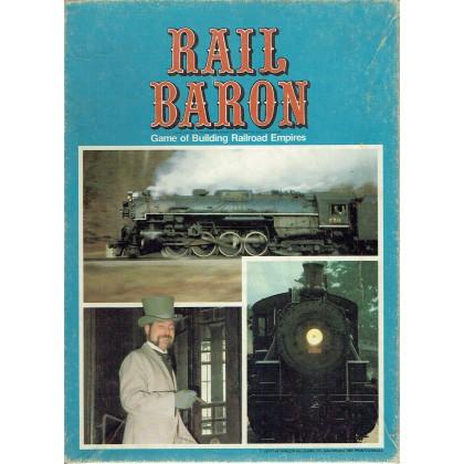 Rail Baron - Game of building Railroad Empires (jeu de stratégie Avalon Hill) 001