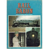 Rail Baron - Game of building Railroad Empires (jeu de stratégie Avalon Hill) 001
