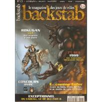 Backstab N° 13 (magazine de jeux de rôles) 001