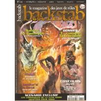 Backstab N° 14 (magazine de jeux de rôles) 001