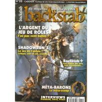 Backstab N° 22 (magazine de jeux de rôles) 001
