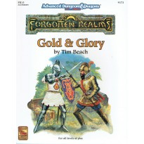 FR15 Gold & Glory (AD&D 2nd edition - Forgotten Realms) 001