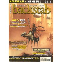 Backstab N° 24 (magazine de jeux de rôles) 001