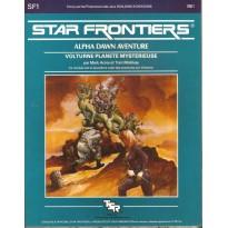 SF1 Volturne Planète mystérieuse (Star Frontiers en VF) 001