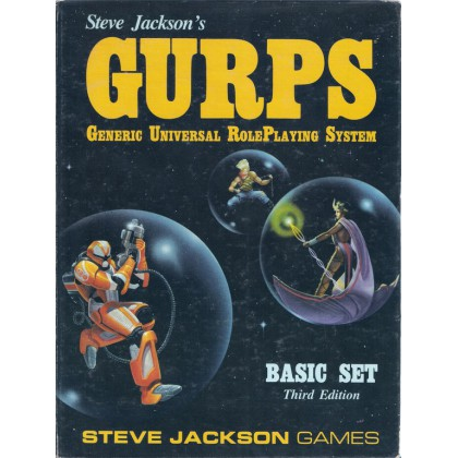 GURPS - Generic Universal RolePlaying System (Basic Set Third Edition en VO) 001