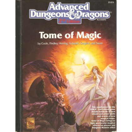 Tome of Magic (jdr AD&D 2e édition en VO) 002