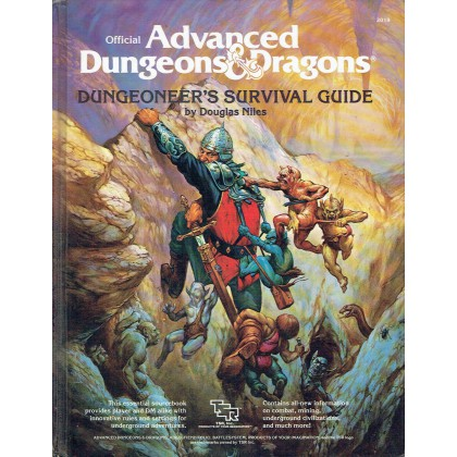Dungeoneer's Survival Guide (jdr AD&D 1ère édition en VO) 001