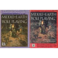 Lot Middle Earth RPG - Livret règles et Ecran (jdr MERP en VO)