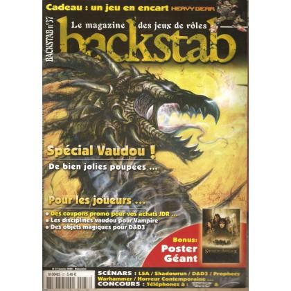 Backstab N° 37 (magazine de jeux de rôles) 001