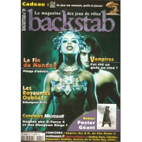 Backstab N° 39 (magazine de jeux de rôles) 001
