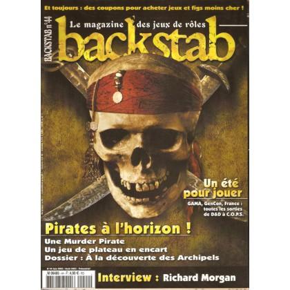 Backstab N° 44 (magazine de jeux de rôles) 001