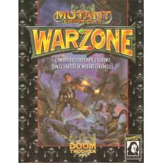 Warzone - Livre de Règles (Jeu de figurines Mutant Chronicles en VF)