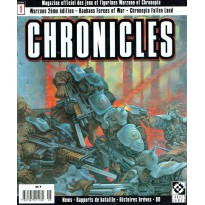 Chronicles N° 1 (magazine officiel des jeux Warzone et Chronopia en VF) 001