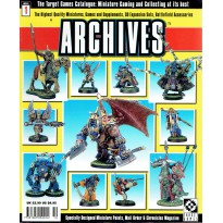 Archives N° 1 (Catalogue officiel des jeux Warzone et Chronopia en VO) 001